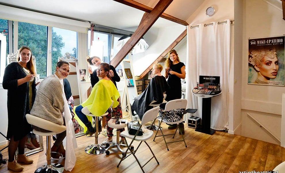 Leuke Make-up Workshops bij Art in the Attic Make-up Academy