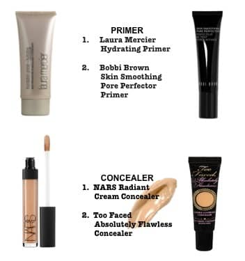 no make-up primer concealer
