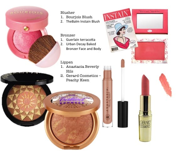 bronzer lippen mineralen make-up