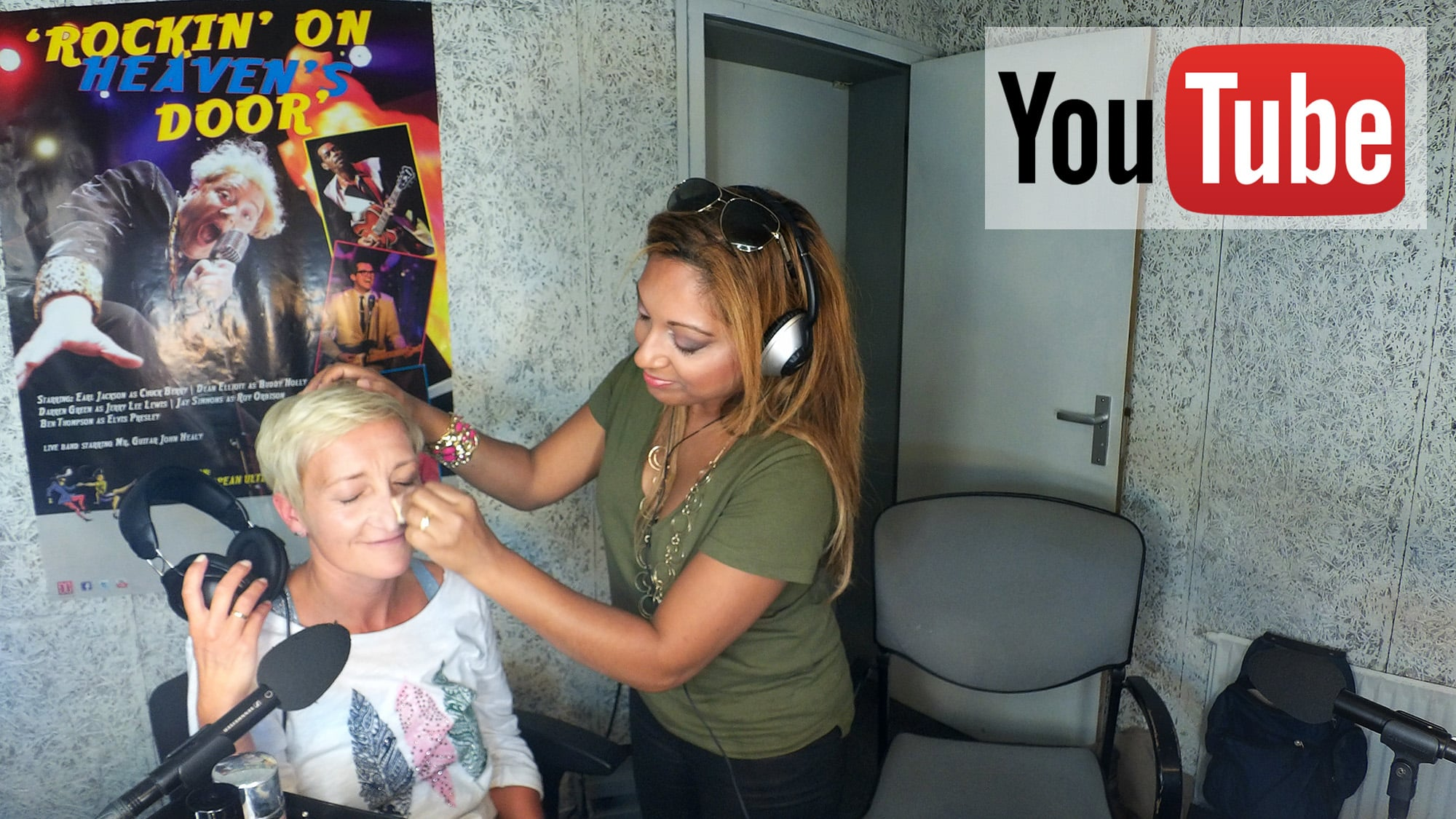 Live Visagie Make-up Workshop Radio RTV Apeldoorn Zaterdagmiddagmix