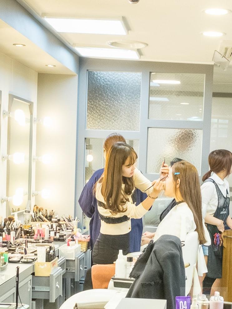 koreaanse make-up salon k-beauty k-pop