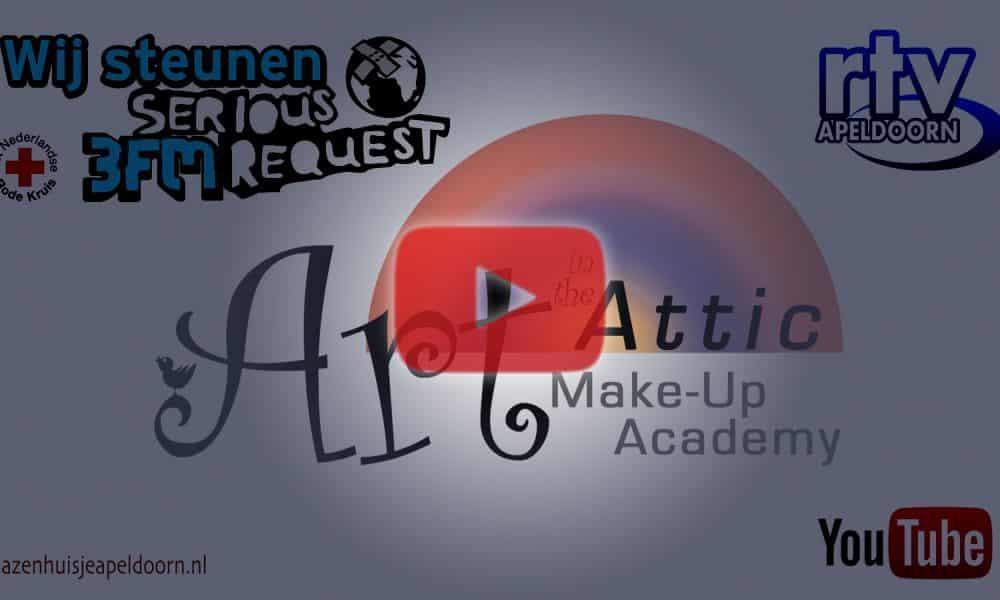 LIVE make-up bij Glazen Huisje Apeldoorn – 3FM Serious Request