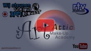 live make-up glazen huisje apeldoorn 3fm serious request