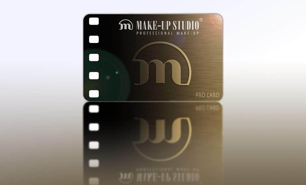 De exclusieve Make-up Studio® PRO CARD voor onze cursisten