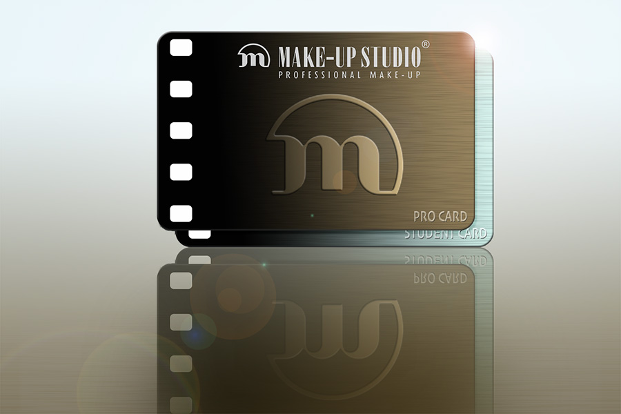make-up studio student pro card