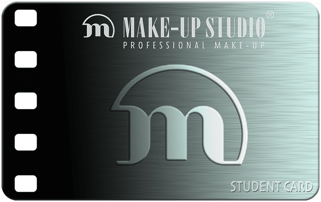 make-up studio student card