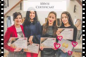 Make-up visagie certificaat