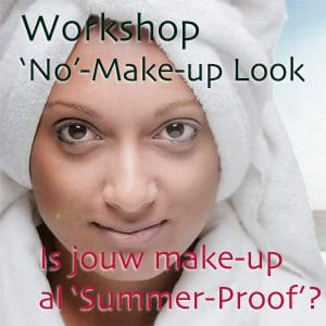 workshop no make up look