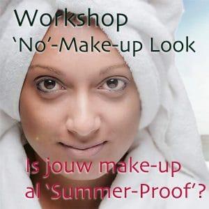 workshop no make up look